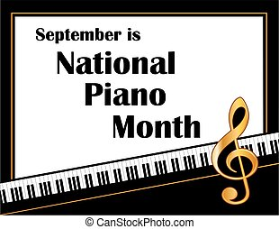 Piano Month Poster