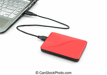 External hard drive - External hard drive for backup on...