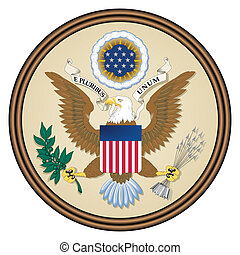 USA seal - Great seal of the United States of America