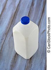 Regular, garrafa, de, galão, de, vaca, leite,