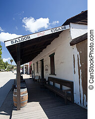 Old saloon in San Diego