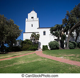 Presidio Park in San Diego - Spanish fortess of Presidio...