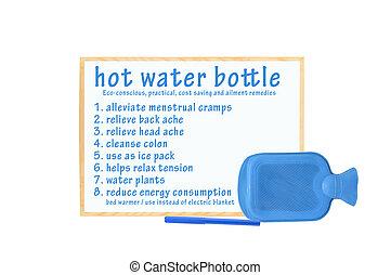 Hot Water Bottle Whiteboard - Hot Water bottle...