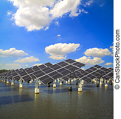 Green energy and sustainable development of solar energy -...
