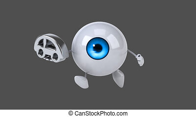 Fun eye - Computer animation
