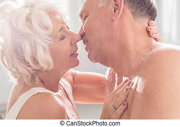 Our love is not getting older - Romantic mature marriage...