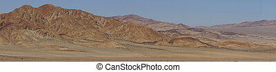 Atacama Desert - Desert scenery along the Pan American...