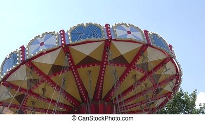 Carousel for children. - Carousel for children in the summer...
