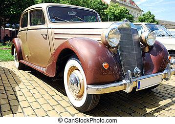 vintage oldtimer car