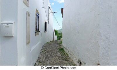 Walking on Old Narrow Street, POV