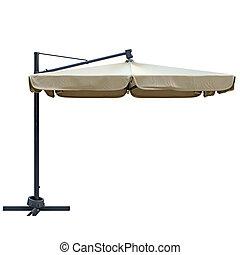 Patio umbrella, side view - Patio umbrella, sunshade for...
