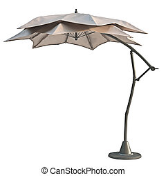 Patio modern beach umbrella - Patio open beach umbrella, sun...