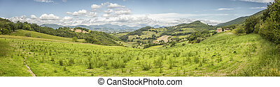 scenery from Italy Marche - An image of a scenery from Italy...