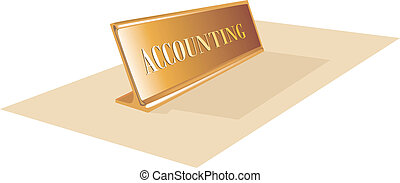 Accounting department - Illustration of Accounting...