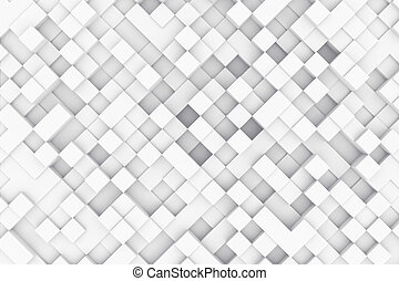 Abstract background made of cubes 3d illustration - Abstract...