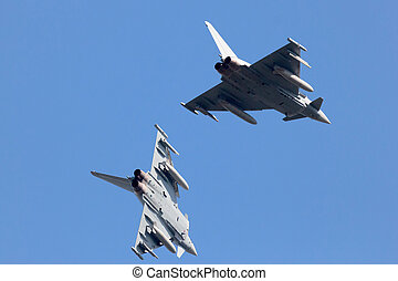 EF2000 Eurofighter Typhoon - LEEUWARDEN, NETHERLANDS - APR...