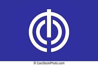 ciudad,  Okinawa, bandera, prefectura,  capital, japón,  naha