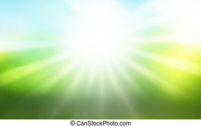 sunshine rays background graphic illustration design