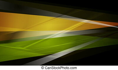 Abstract bright glossy stripes video animation - Abstract...