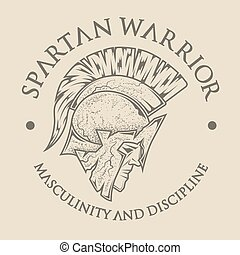 Symbol Spartan, Greek, warrior.