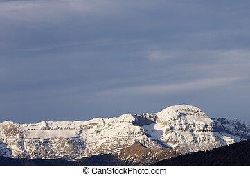Pyrenees - Tendenera Mountains in Tena Valley, Pyrenees,...