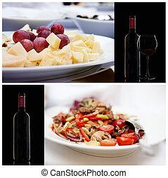 Food series. Italian