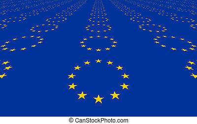 European original flag colors designs