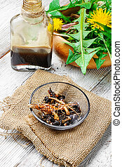 Healing dandelion root - National therapeutic agent from a...