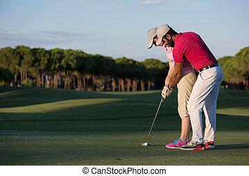 golf, istruzioni
