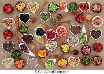 Super Food Selection - Healthy super food selection in...