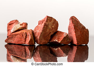 Red Jasper, uncut, crystal Healing, gemstones