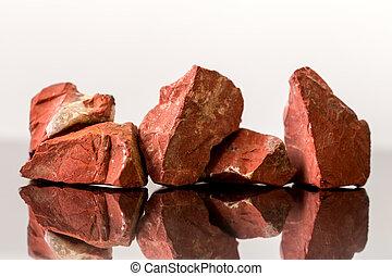 Red Jasper, uncut, crystal Healing, gemstones