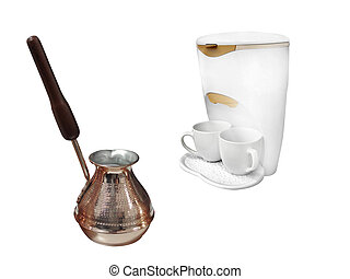 compact percolator and coffeepot - The image of compact...