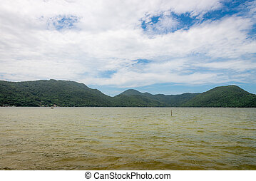 Conceicao lagoon in Florianopolis, Brazil - Beautiful...