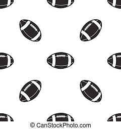 seamless pattern with Rugby