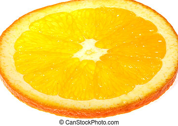 Tropical fruit - Orange. Tropical fruit
