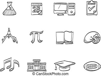 Sketch Icons - More School - More school icon series in...