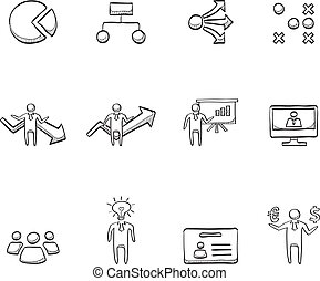Sketch Icons - Business