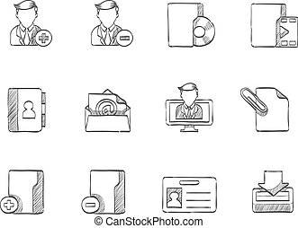 Sketch Icons - More Group Collaboration