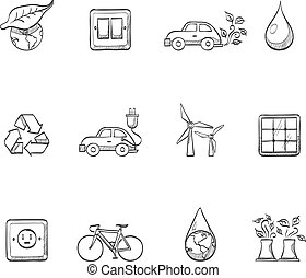 Sketch Icons - Environment