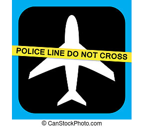 Airline Security Vector