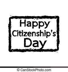 HAPPY citizenship Day national holiday of the United States...