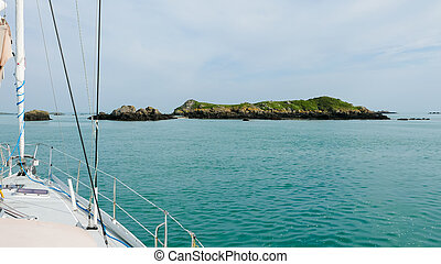 Sailing in Brittany (2)