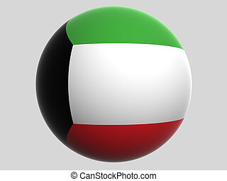 Kuwait - National Flag. Kuwait