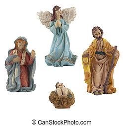Mary, Giuseppe, gesù, angelo