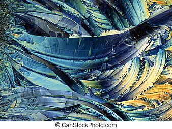 crystal microscopic view 195