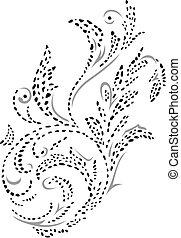 Henna design redondo esta??o forma