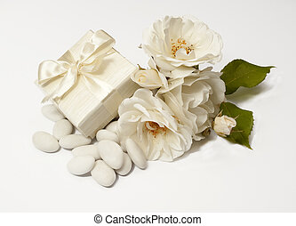 Wedding Favors 4 - material for packaging favors on white...