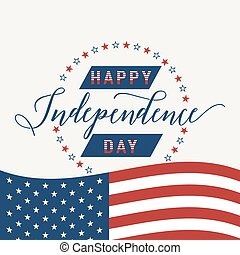 Happy Independence Day United states. July 4th. Fourth....