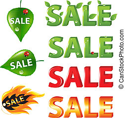 Big Sale Texts and discount elements - Big Sale Texts and...